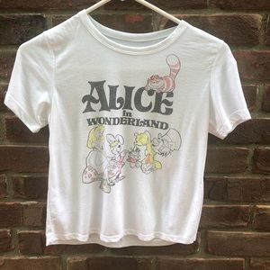 Alice in Wonderland graphic tee